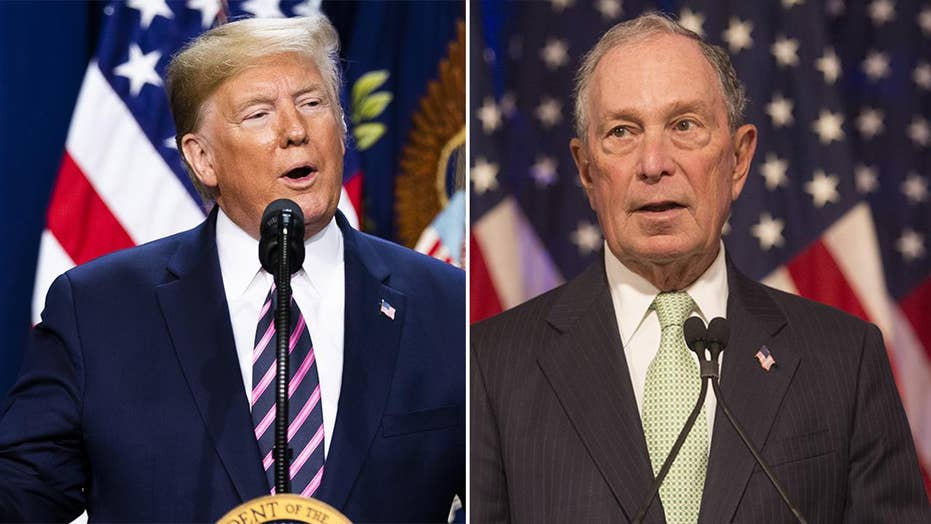 A tale of two billionaires: How the media talk about Bloomberg vs. Trump