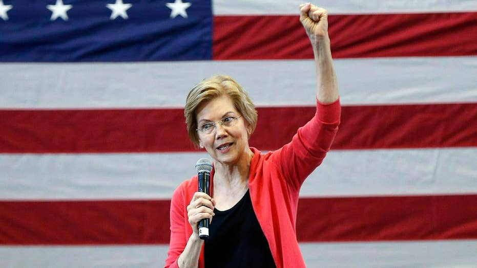 Sen. Elizabeth Warren touts wealth tax plan