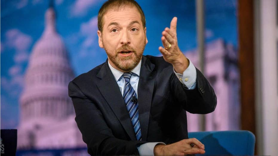 MSNBC's Chuck Todd has faced backlash on a regular basis.