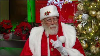 Santa Claus joins 'Fox & Friends' on Christmas morning