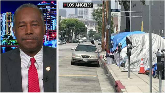 Secretary Ben Carson says California's homeless crisis is not a partisan issue