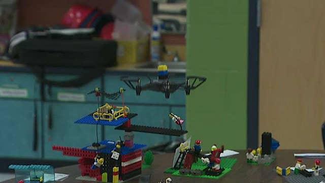 West Virginia teacher adds drones to her 5th grade classroom