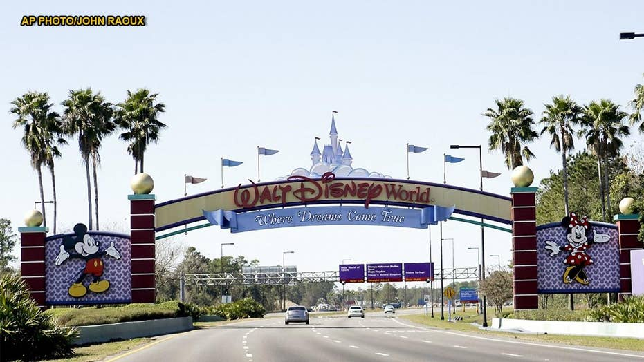 Disney World characters allege inappropriate touching, grouping by tourists