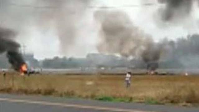 Plane crashes in Lafayette, Louisiana killing at least 5