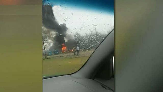 Small plane crash kills at least 5 in Louisiana