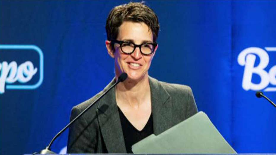 Washington Post media critic claims Rachel Maddow 'rooted' for the Steele dossier to be true
