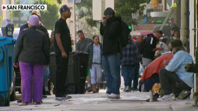 US homelessness increases for third year in a row