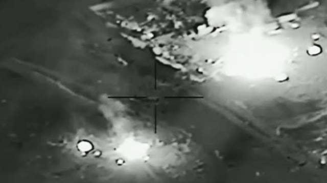 US airstrikes target Iranian-backed militias in Iraq, Syria