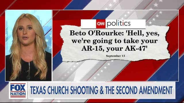 Tomi Lahren rips Beto O'Rourke as he weighs in on Texas Church shooting