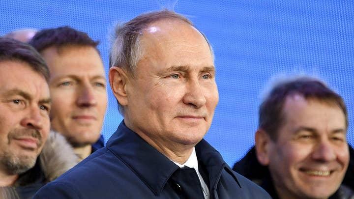 Kremlin posts readout of Trump-Putin call