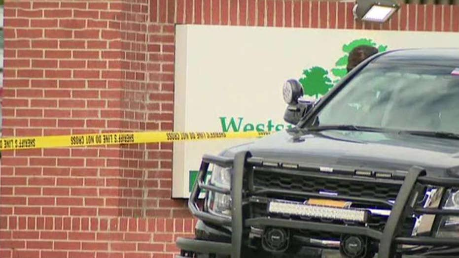 Armed parishioner kills gunman at Texas church