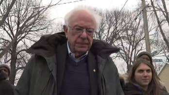 Bernie Sanders dances his way into 2020, as presidential candidates ring in new year