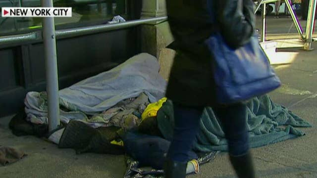 NYC group calls on President Trump to intervene in city's homeless crisis