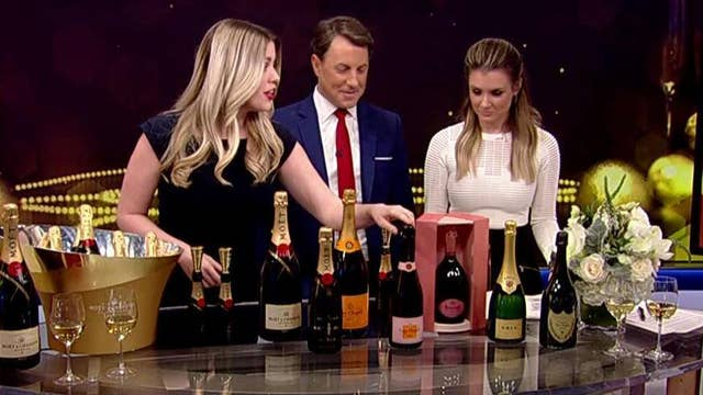 Celebrating the new year on National Champagne Day