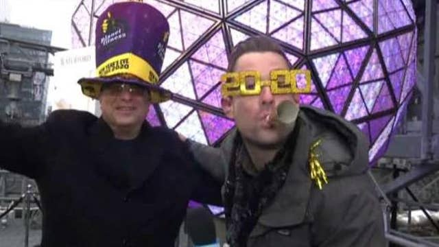 Times Square New Year's co-producer expects big crowds for ball drop
