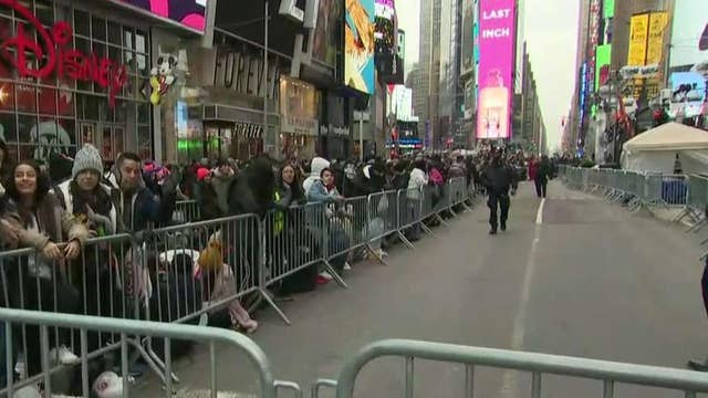 New York City prepares to ring in new decade with massive security measures
