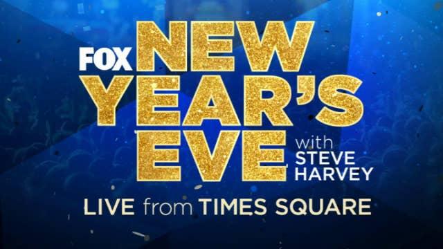 Steve Harvey and Maria Menounos host 'Fox's New Year's Eve'