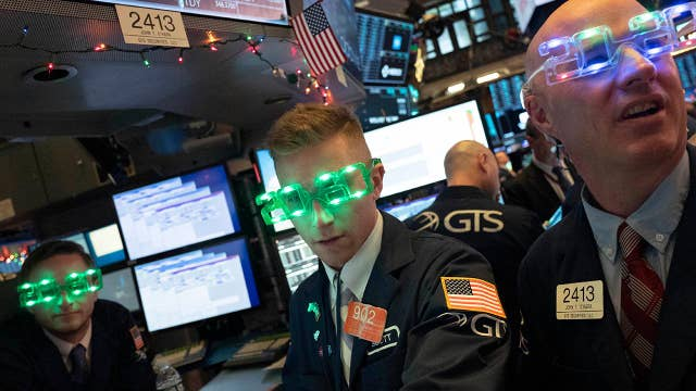 Stock market finishes strong in 2019