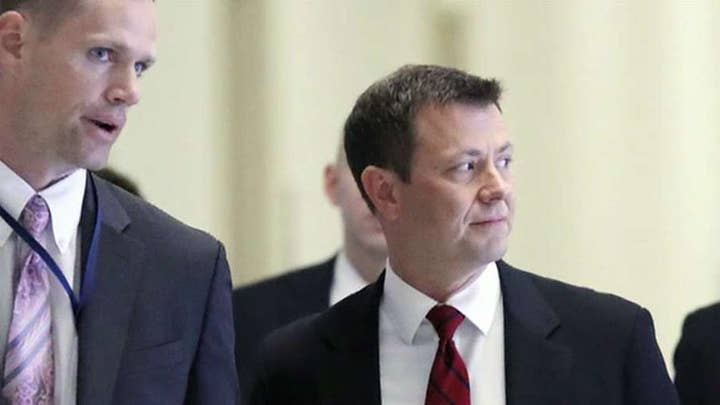 Strzok accuses government of violating his rights, claims anti-Trump texts are protected by First Amendment
