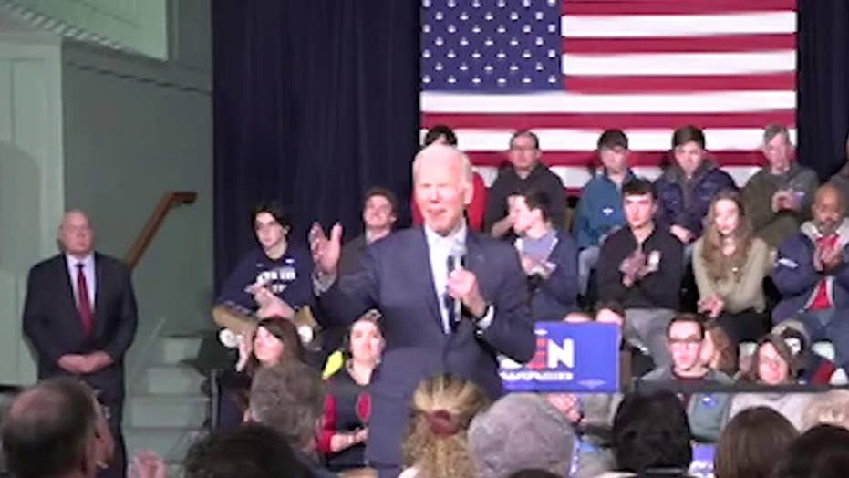 Biden says he'd be willing to name a Republican as his VP nominee
