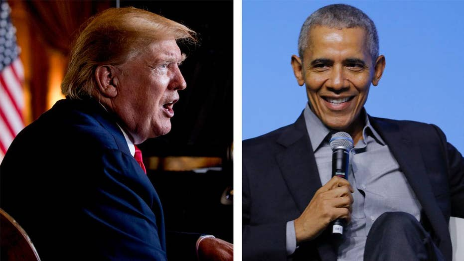 Trump, Obama share title of year's 'most admired man' in annual poll