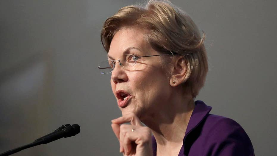 Warren urges Democrats to 'imagine a better America'