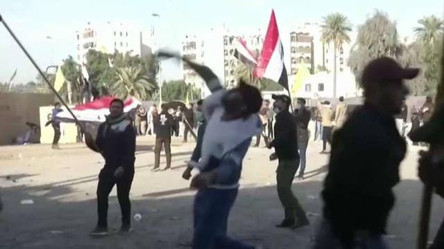 Iraqi militia, protesters claim victory as US Embassy siege begins to wind down
