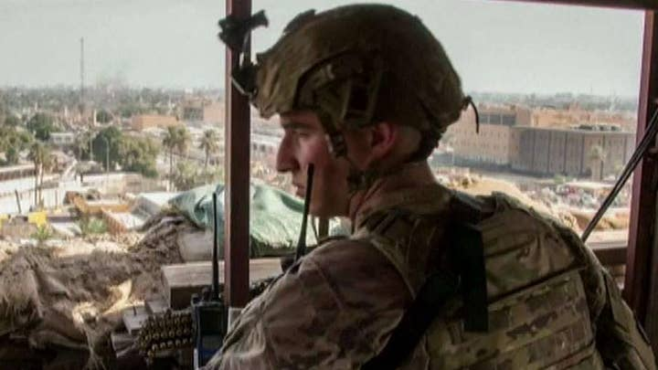 US Marines arrive in Iraq to reinforce US Embassy
