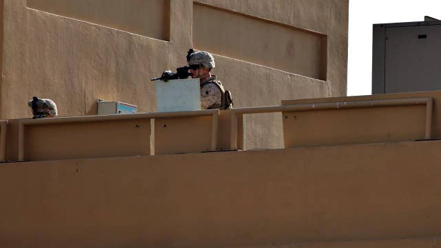 More US troops deployed after US Embassy attack in Iraq
