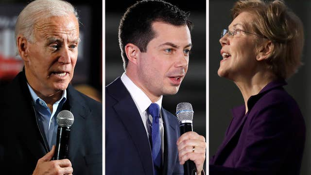 Which Democrat will be on the ticket against President Trump?