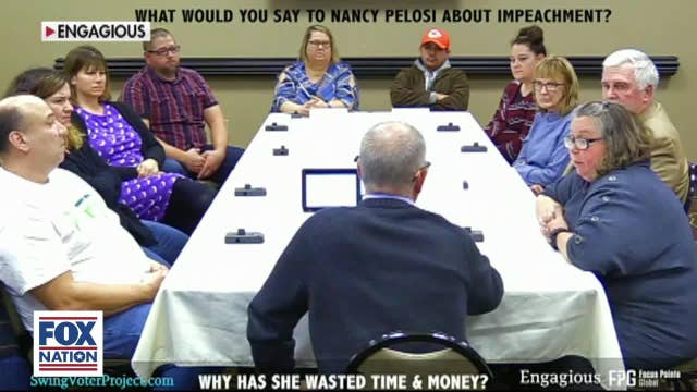 Michigan 'swing voters' focus group rips Democrats and Pelosi over impeachment push