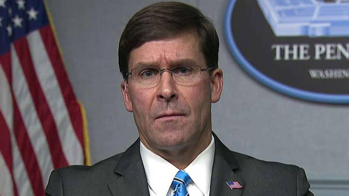 Defense Secretary Esper: We are going to defend ourselves and our interests in Baghdad