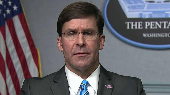 Defense Secretary Esper on US response in Middle East: Bold and decisive move