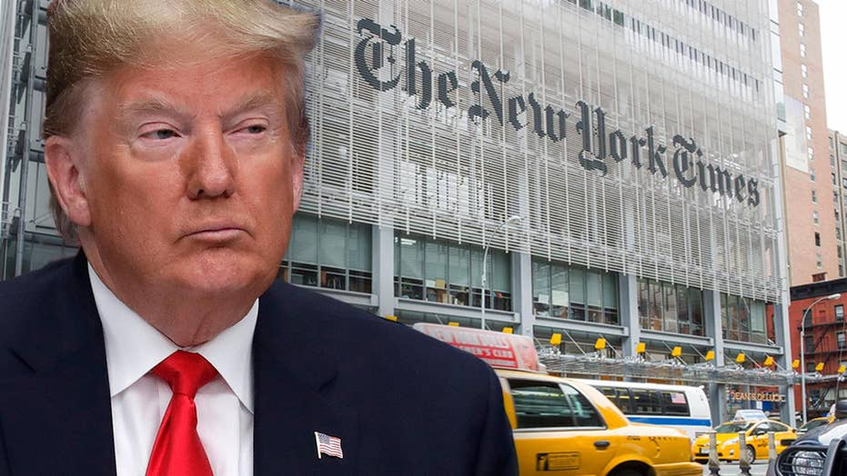 New York Times claims 2019 was 'darkest year yet for journalists' under Trump administration
