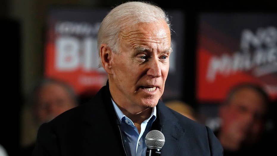 Biden picks up first endorsement from Iowa congressional delegation ahead of caucuses