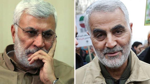 Trump orders airstrike killing Gen. Soleimani, Iraqi paramilitary chief Muhandis