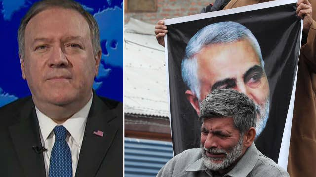 Pompeo on Soleimani strike: We don't seek war with Iran but we won't stand by while Americans are put at risk