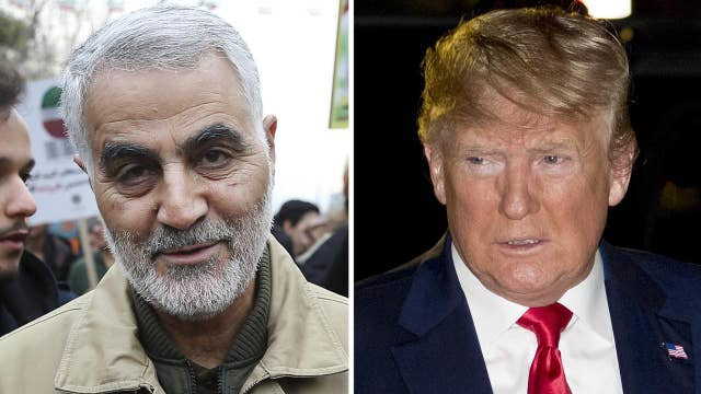 Powerful Iranian General killed, Trump orders airstrike targeting Gen. Qassem Soleimani