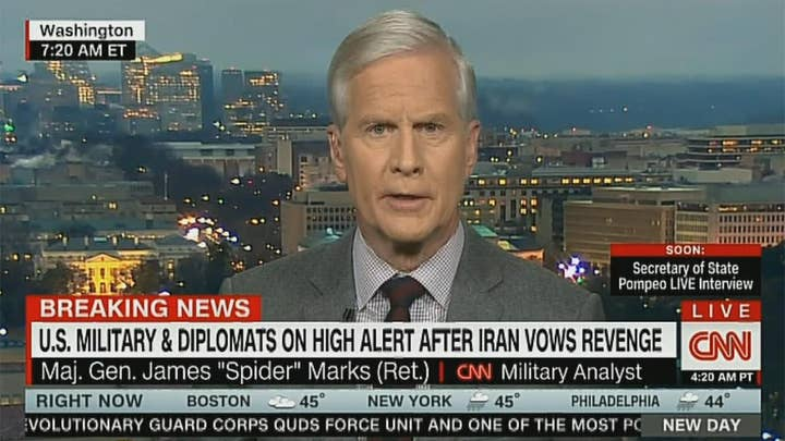 CNN military analyst tells Senate Democrat who criticized Soleimani strike to 'just be quiet'