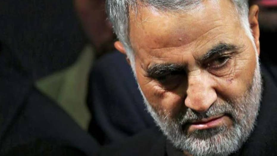 Iran Quds Force leader Qassem Soleimani reportedly killed in Baghdad airstrike
