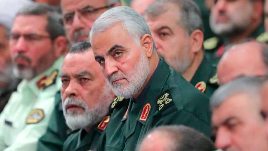 US airstrike kills Iranian military leader