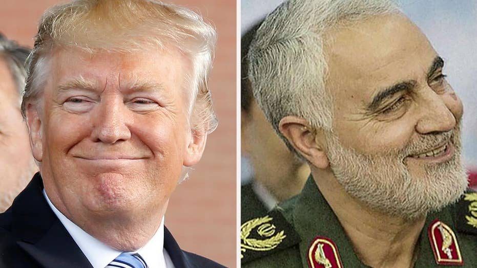 Trump says Soleimani was 'directly and indirectly responsible for the death of millions of people'