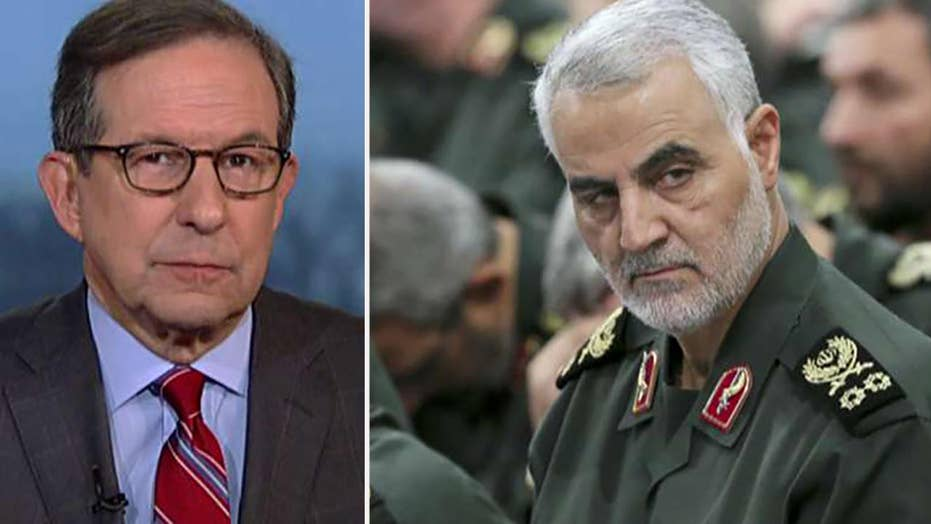 Chris Wallace: Bush, Obama didn't take out Soleimani out of concern over how Iran would respond