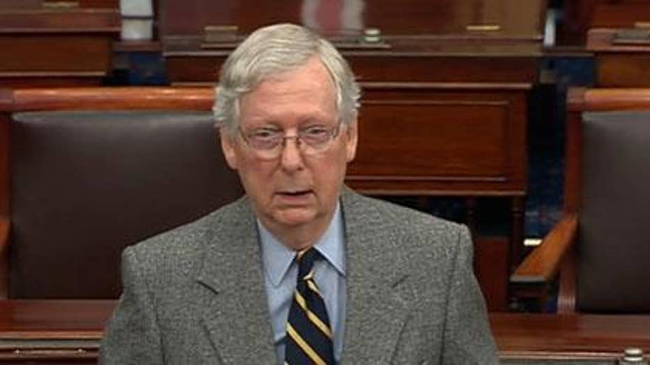 Leader McConnell: Trump derangement has morphed into impeachment fever