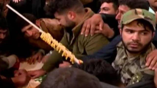 Mourners chant 'death to America' promising retaliation amid Soleimani's death