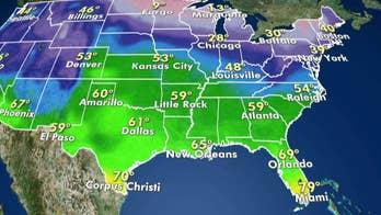 National forecast for January 5, 2020