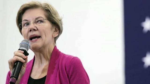Elizabeth Warren and Mike Bloomberg tied for third place: poll
