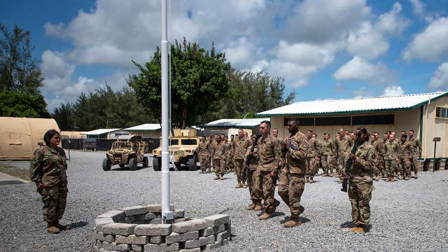 US service member and two American contractors killed in attack on Kenya military base