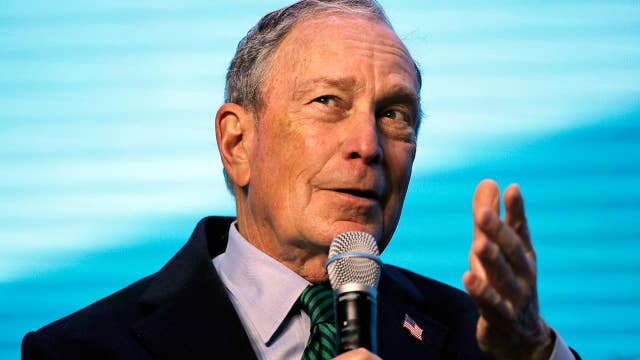 Bloomberg skyrockets to third place in new national poll