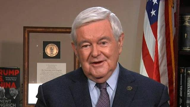 Newt Gingrich: 'Wage war against Trump, he'll wage war back'